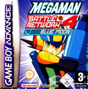 Mega Man Battle Network 4 Red Sun and Blue Moon Box