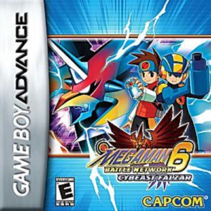Mega Man Battle Network 6 Box
