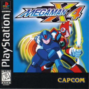 Mega Man X4 Box