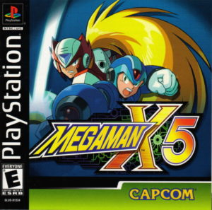 Mega Man X5 Box