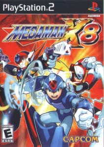Mega Man X8 Box