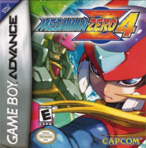 Mega Man Zero 4 Box