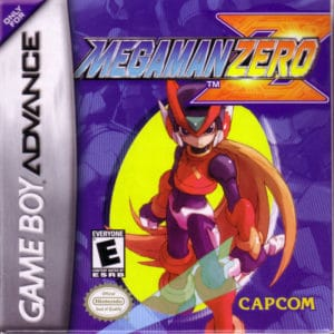 Mega Man Zero Box