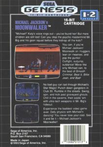 Moonwalker Box Back