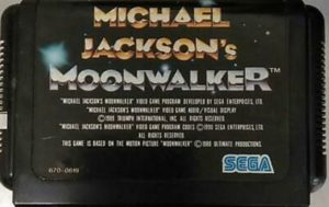 Moonwalker Japan Cartridge