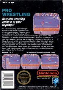 Pro Wrestling Box Back