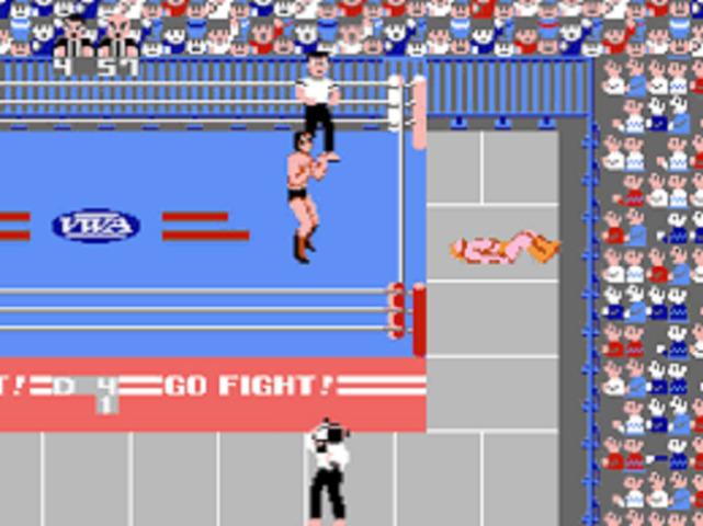 Pro Wrestling Outside of Ring