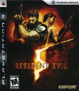 Resident Evil 5 Box