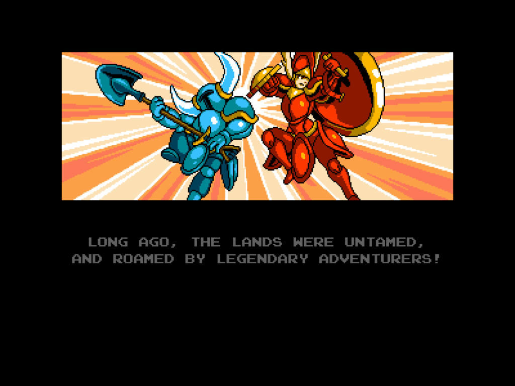 Shovel Knight Intro