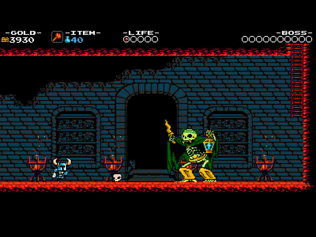 Shovel Knight Mini Boss