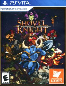 Shovel Knight PS Vita Box