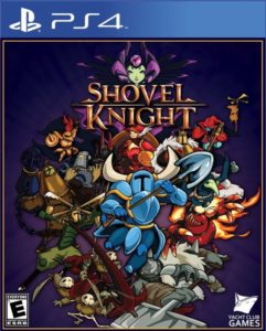 Shovel Knight PlayStation 4 Box