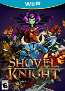 Shovel Knight - Shovel of Hope Wii U Box