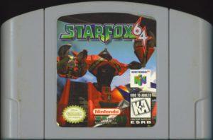 Star Fox 64 Cartridge