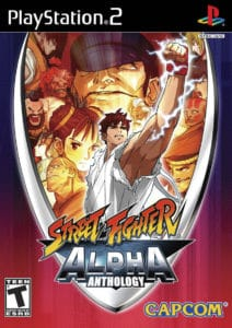 Street Fighter Alpha Anthology Box