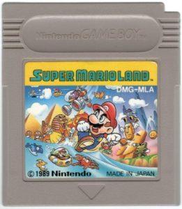 Super Mario Land Japanese Cartridge