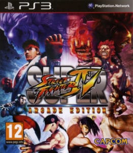 Super Street Fighter IV Arcade Edition Box
