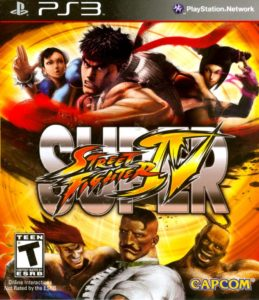 Super Street Fighter IV Box