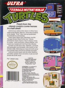 Teenage Mutant Ninja Turtles Box Back