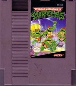 Teenage Mutant Ninja Turtles Cartridge