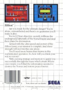 Zillion Box Back
