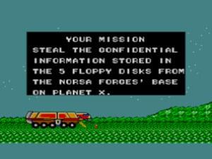 Zillion Mission