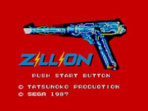 Zillion Title Screen