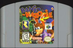 Banjo-Kazooie Cartridge