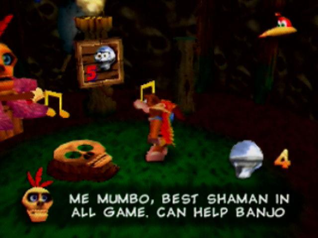 Banjo-Kazooie Mumbo Jumbo