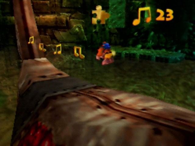 Banjo-Kazooie Rusty Clanker Back