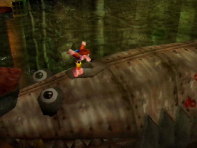 Banjo-Kazooie Rusty Clanker