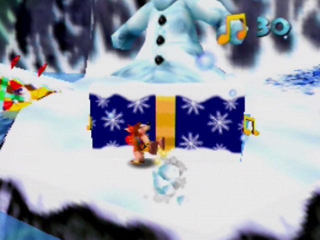 Banjo-Kazooie Snowman