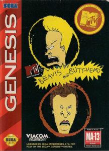 Beavis and Butt-Head Genesis Box