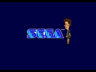 Beavis and Butt-Head Genesis Sega Screen