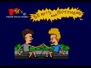 Beavis and Butt-Head Genesis Title Screen
