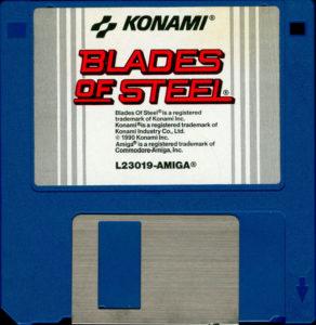 Blades of Steel Amiga 3.5 Floppy Disk