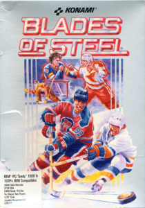 Blades of Steel DOS Box