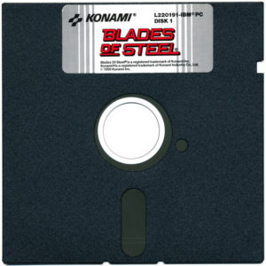 Blades of Steel DOS Floppy Disk