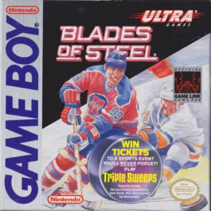 Blades of Steel Game Boy Box