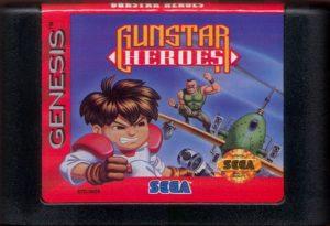 Gunstar Heroes Cartridge