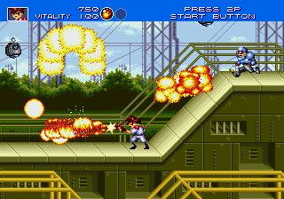 Gunstar Heroes Fire Power
