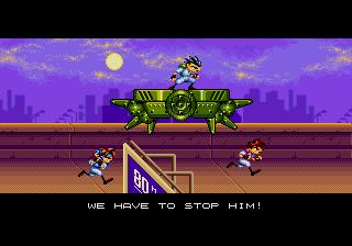 Gunstar Heroes Intro
