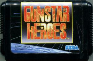 Gunstar Heroes Japanese Cartridge