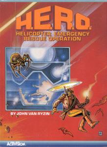 H.E.R.O. Atari 5200 Box