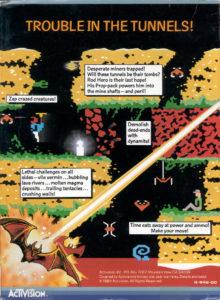 H.E.R.O. Atari 5200 Box Back