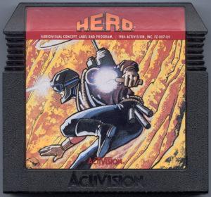H.E.R.O. Atari 5200 Box Cartridge