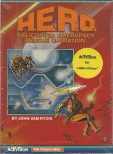 H.E.R.O. ColecoVision Box