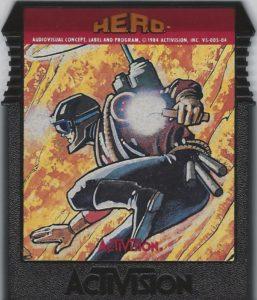H.E.R.O. ColecoVision Cartridge