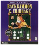 Hoyle Backgammon and Cribbage Box