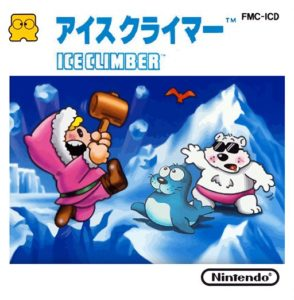 Ice Climber Famicom Disk System Box